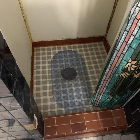 Shower Makeover (1920's) at a Shawnee, KS Home