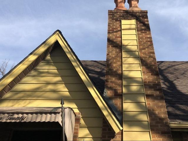 Wood Rot Repair on Front of Home in Kansas City, MO