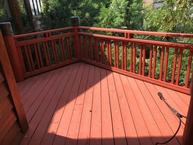 Main Deck that was Rebuilt in Kansas City, MO