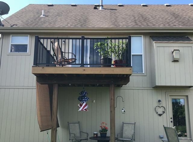 Deck on Back of Home Has Stairs Removed in Kansas City, MO