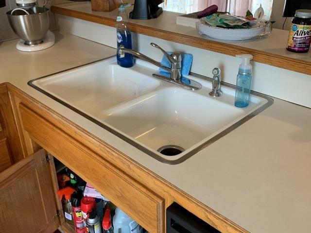 Kitchen Stainless Steel Faucet Installed in Greenwood, MO