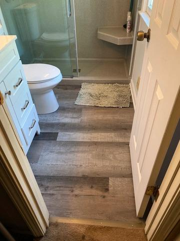 Master Bathroom Remodel and Shower Install in Olathe, KS