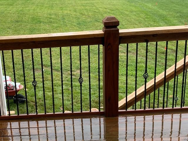 Wood on Deck Replaced at a Home in Grain Valley, MO
