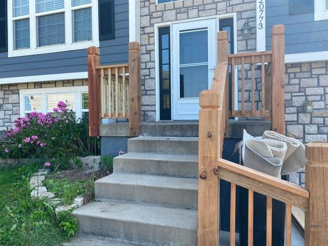 Porch Railings, Pickets and Posts Installed in Spring Hill, KS.