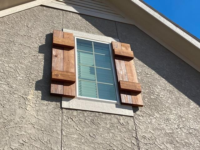 Window Shutters (Cedar) Installed on a Home in Lee's Summit, MO - After Photo