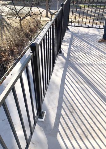 Railings & Posts on Balcony Installed on Kansas City, MO Home
