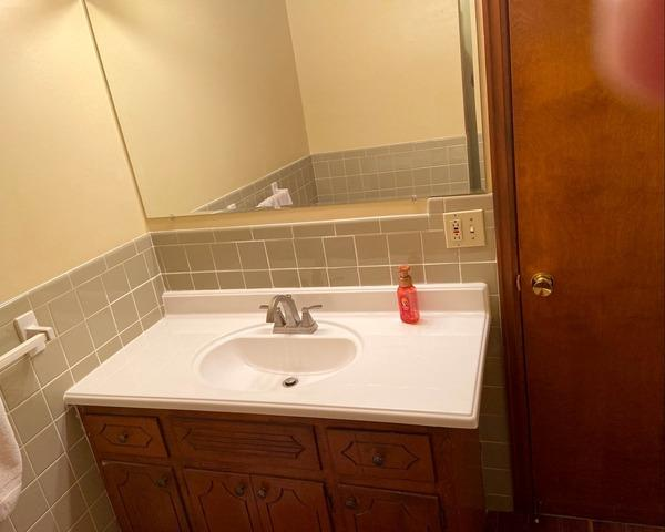 Bathroom Vanity, Faucet and Paint Replaced in Master Bath in Gladstone, MO