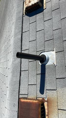 Ventilation Box Vents and New Shingles Installed on Roof of a Home in Raytown, MO