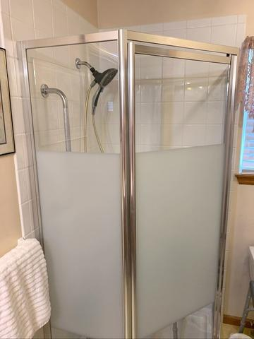 New Shower installation in a Kansas City, MO Home