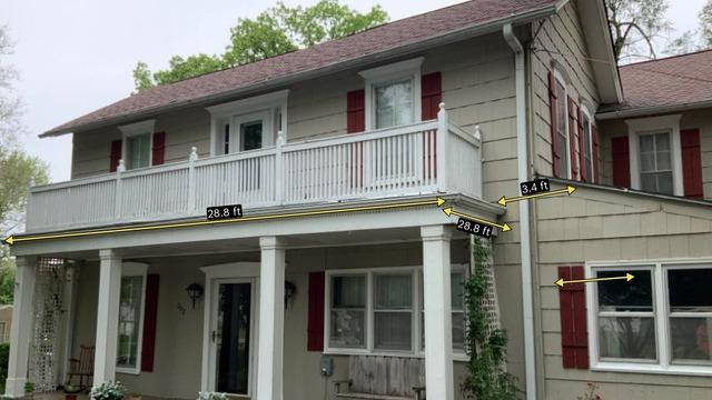 Gutter, Downspouts & Elbows Installed on Spring Hill, KS Home Built in 1900