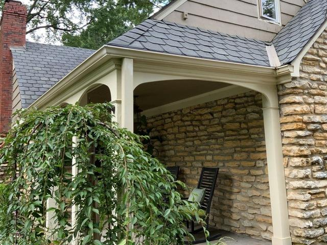 Downspouts, Gutters and Gutter Guards Installed in Leawood, KS