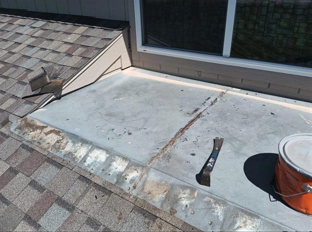 Window Roof Pan Remodel in De Soto, KS