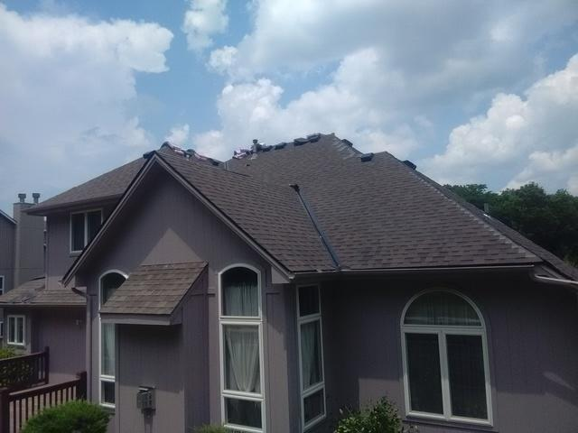Roof Repair in Blue Springs MO - After Photo