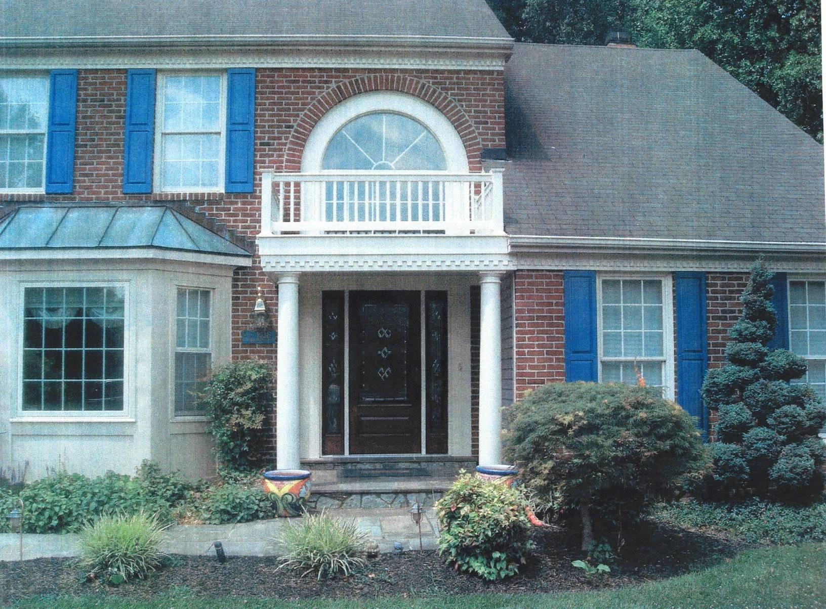 Front Portico in Laurel, MD - After Photo