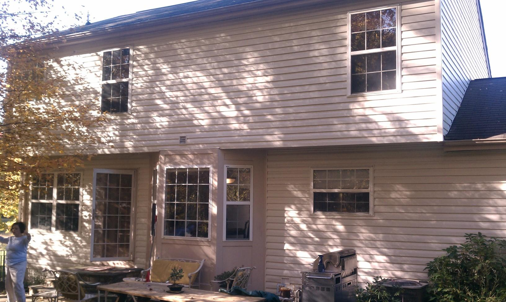 Home Addition in Washington, MD - Before Photo