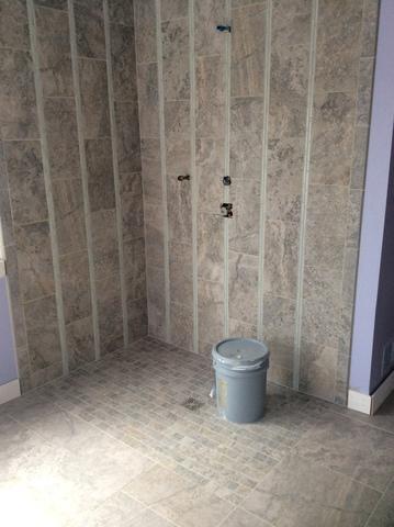 Barrier Free Shower Installed in Burtonsville, MD