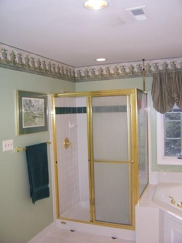 From Gaudy to Relaxing: Bathroom Reno in Pikesville, MD