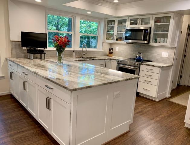 Dark & Cramped to Bright White Kitchen in Jessup, MD
