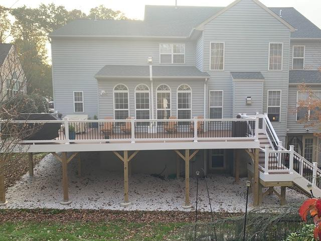 Spacious Deck in Rockville, MD