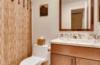 Glowing Guest Bathroom in Glyndon, MD