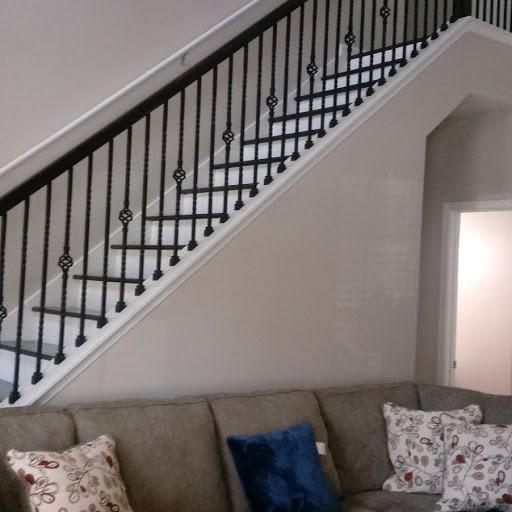 Stair Railing Installation in Braselton, Georgia - After Photo