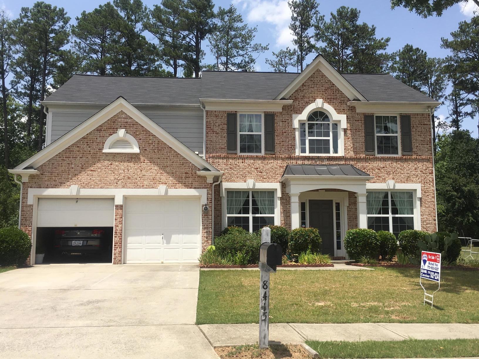 Insurance Claim Roof Replacement - Hail damage in Suwanee - After Photo