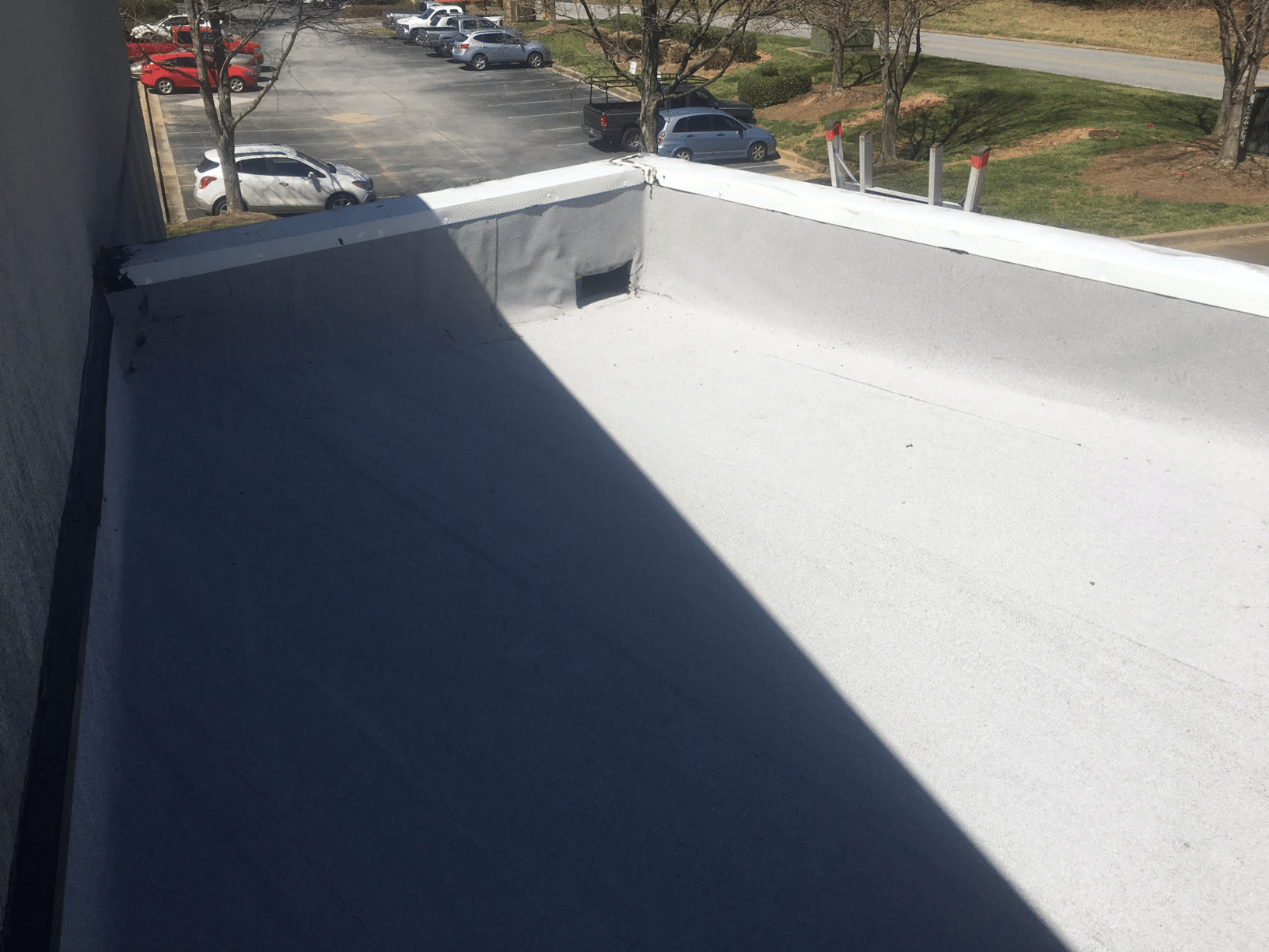 Commercial Roofing - Leak Repairs - After Photo