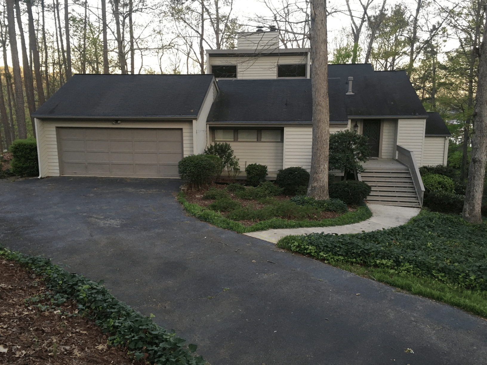 Insurance Claim - Roof Replacement in Gainesville, GA - Before Photo