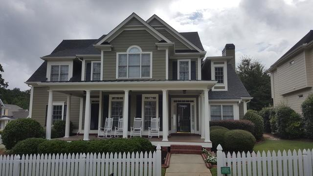 Exterior Painting & Wood Replacement in Alpharetta