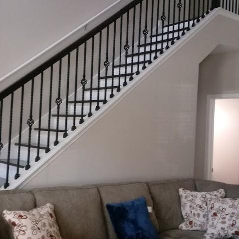 Stair Railing Installation in Braselton, Georgia