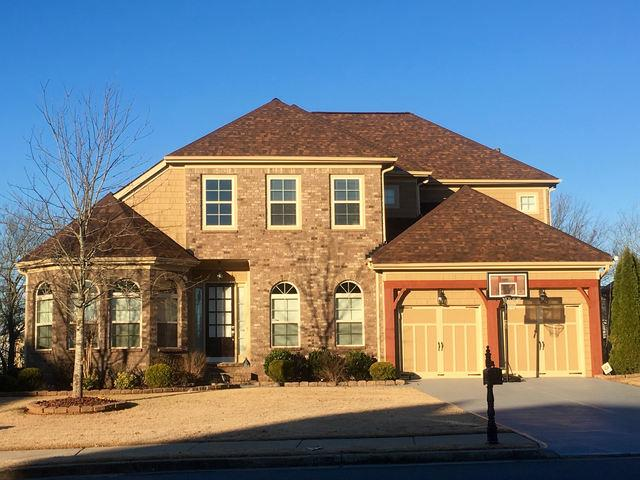 Insurance Claim - Roof Replacement and Exterior Painting in Suwanee, GA