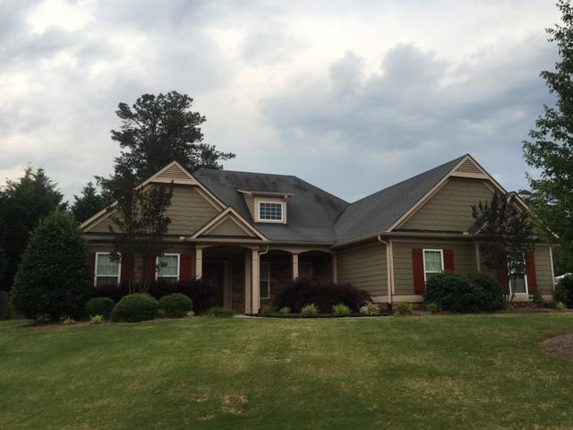 Hail Damaged Roof & Gutter Replacement in Canton