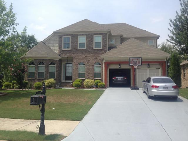 Insurance Claim - Roof Replacement and Exterior Painting in Suwanee, GA - Before Photo