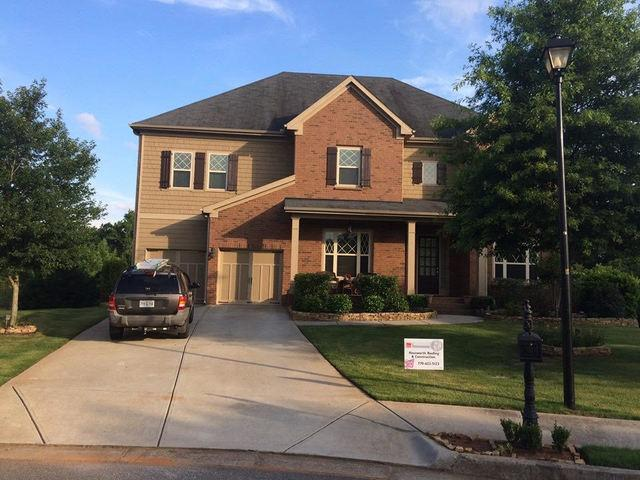 Insurance Claim - Roof Replacement in Johns Creek, GA - Before Photo