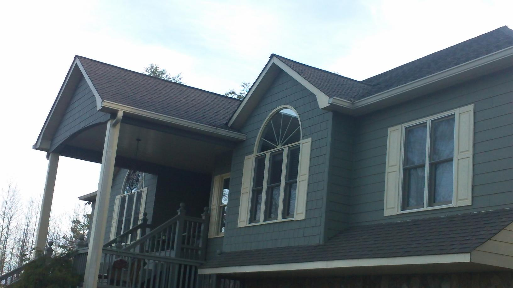 Hail Damage Roof Repair in Blue Ridge, GA - Before Photo