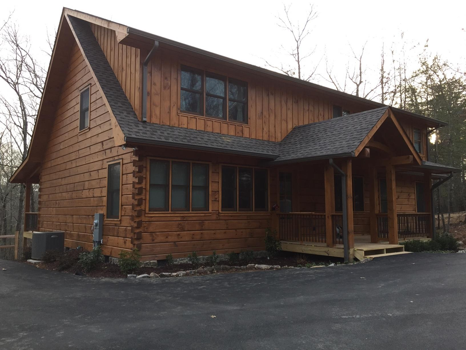 New Construction home in blue ridge, ga - After Photo
