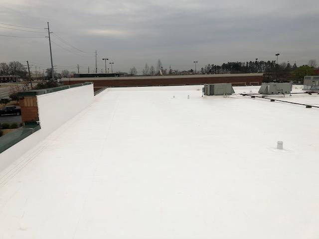 Roof Replacement using Duro-Last 50 mil membrane