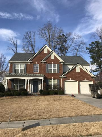 Full roof replacement in Woodstock GA