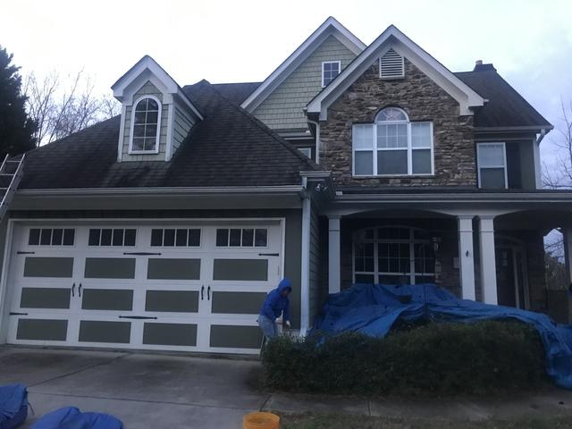 Full roof replacement in Flowery Branch GA