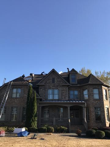 Full Roof Replacement in Marietta GA