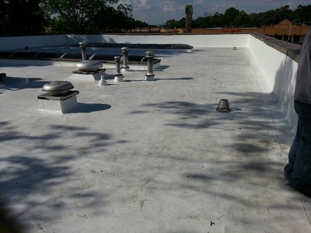 Flat Roof Replacement in Flowery Branch GA