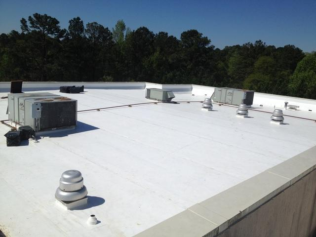 Commercial Roof Replacement Job in Marietta, GA