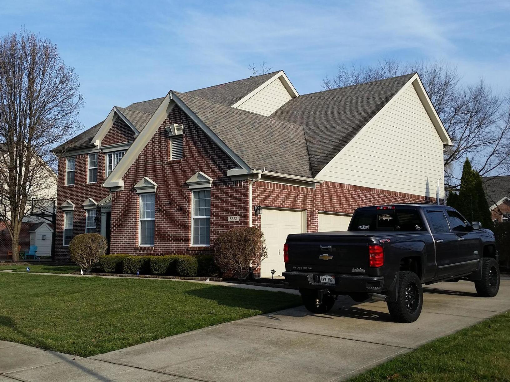 Roofing Shingle Replacement in Carmel, IN - Before Photo