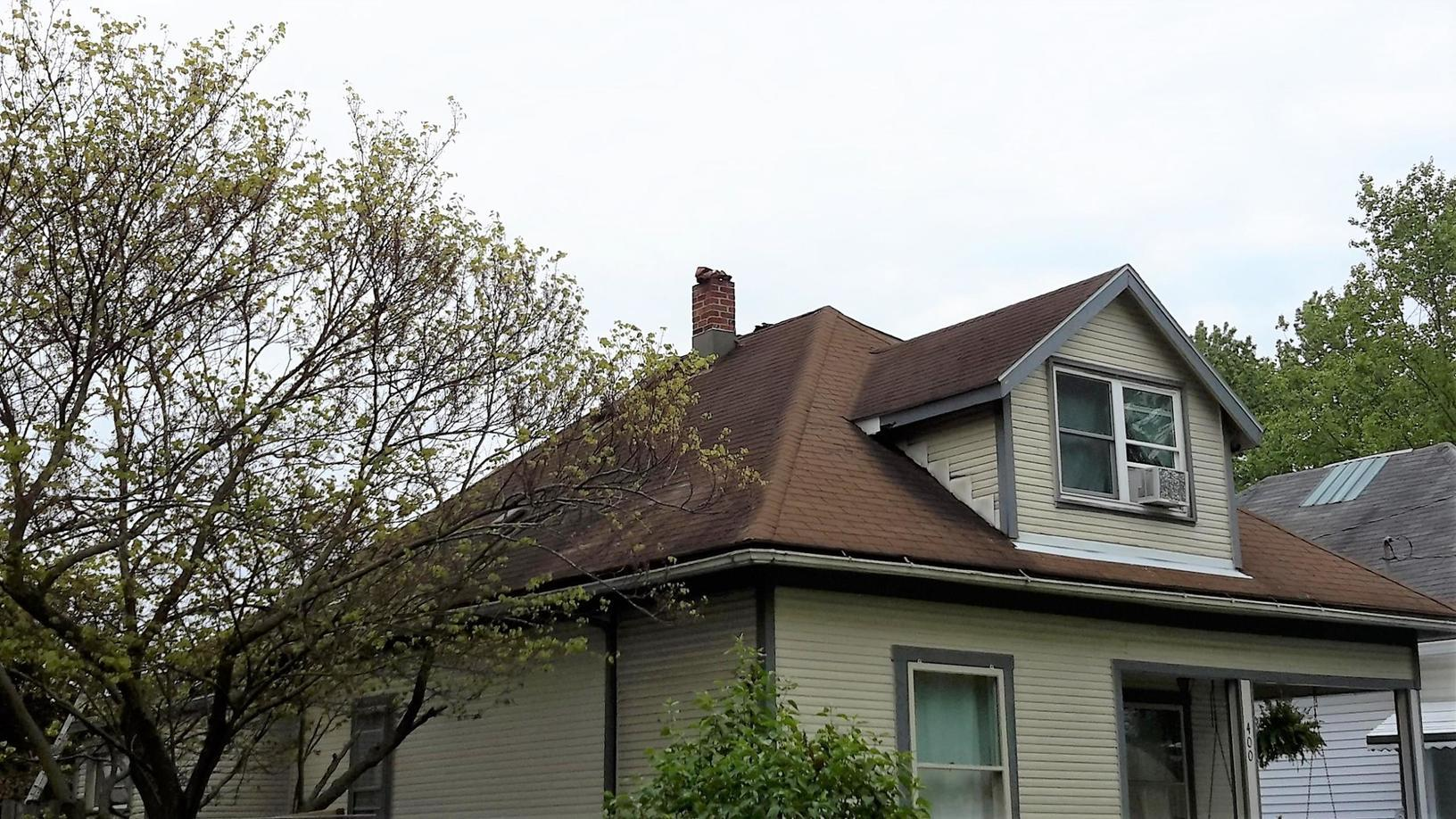 Roof Replacement in Muncie, IN - Before Photo