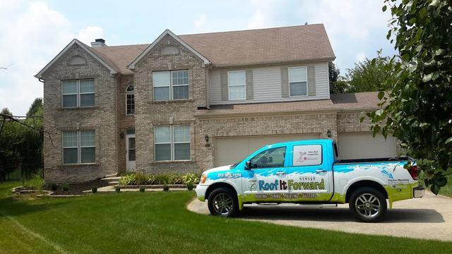 Roof Replacement Project in Carmel, IN