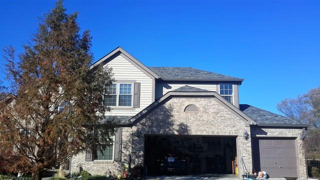 Roof replacement in Fishers Indiana.