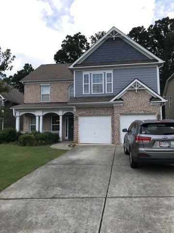 Wind Damage Roof Install in Canton, GA