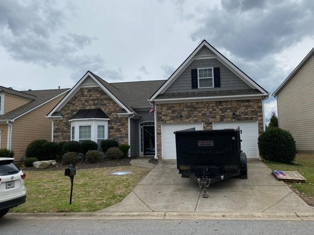 Wind and Hail Damage Roof Install in Canton, GA