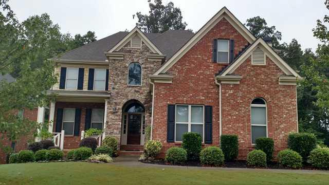 Insurance claim roof replacement in Lawrenceville, GA