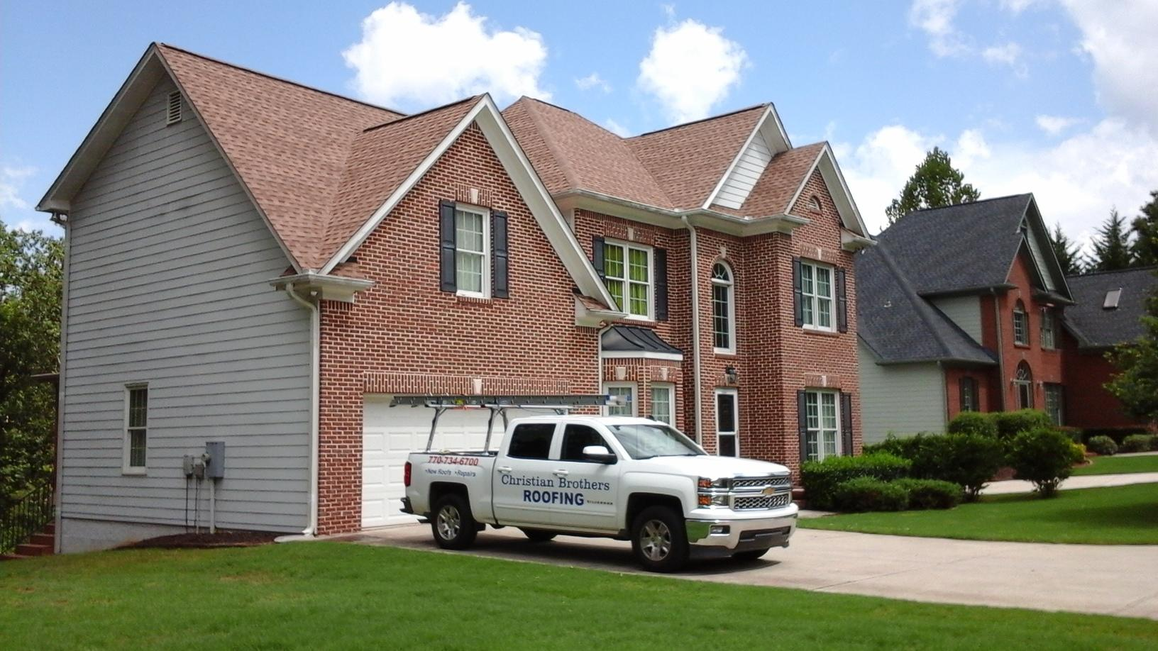 Roof Replacement in Flowery Branch, GA - After Photo